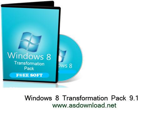 Windows 8 Transformation Pack 9.1-تبدیل ویندوز xp و 7  به ویندوز 8
