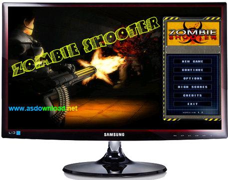دانلود بازی تیرانداز زامبی برای کامپیوتر- Zombie Shooter