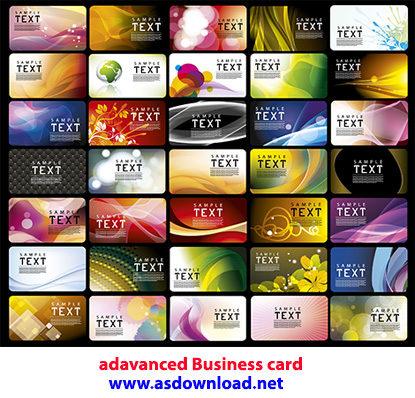 دانلود کارت ویزیت حرفه ای - adavanced Business card