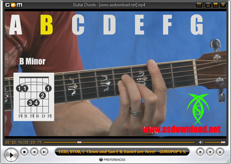 دانلود فیلم آموزش آکوردهای گیتار