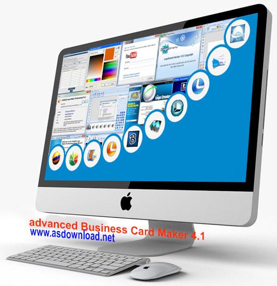 advanced business card maker 4.1-نرم افزار طراحی کارت ویزیت