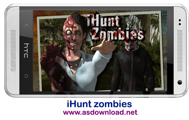 iHunt zombies-بازی تیرانداز زامبی برای آندروید