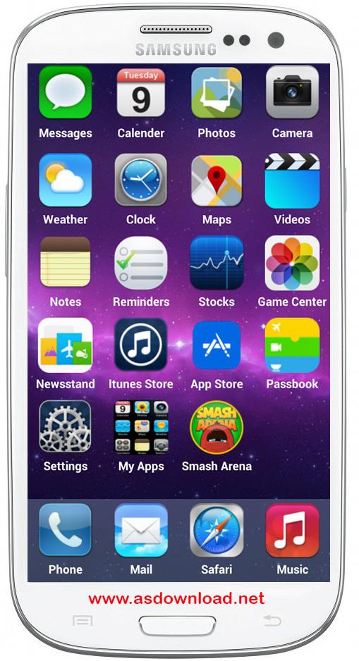 Photo of iOS 8 Launcher Concept برای آندروید