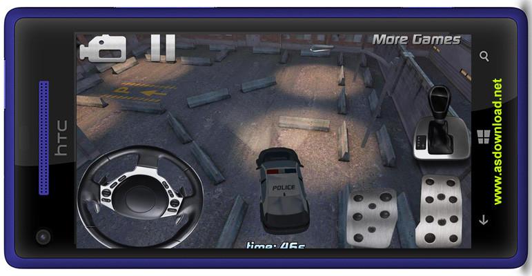 Photo of police car parking 3D HD-دانلود بازی پارکینگ ماشین پلیس برای آندروید