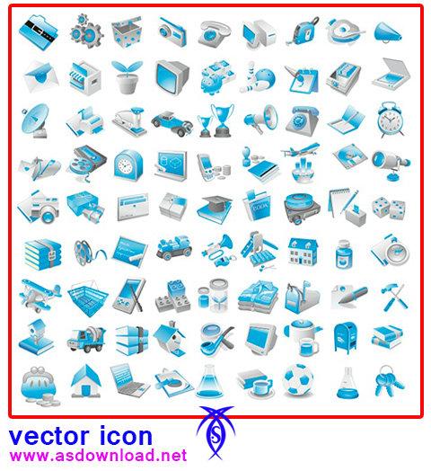 دانلود مجموعه وکتور مختلف برای طراحی آیکن