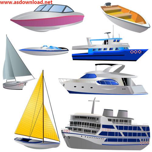 دانلود وکتور کشتی – Ship vector