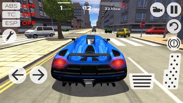 دانلود بازی Extreme Car Driving Simulator - بازی مسابقه ماشینی بی نهایت اندروید