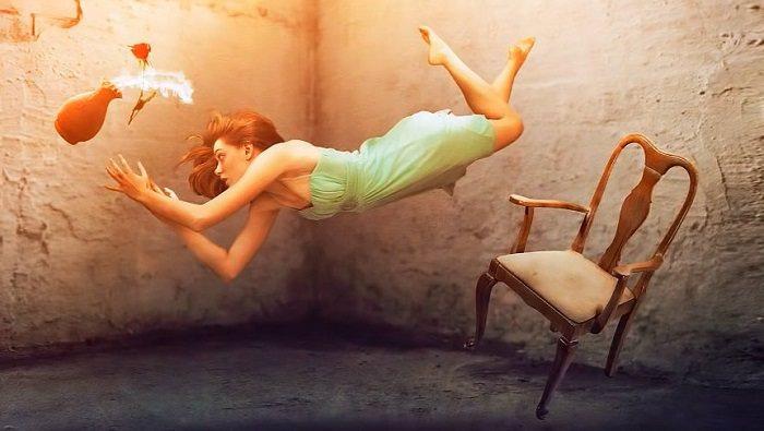 Making Levitation Photo Photoshop