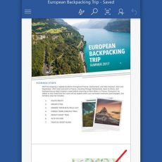 Microsoft Word - نرم افزار word برای اندروید