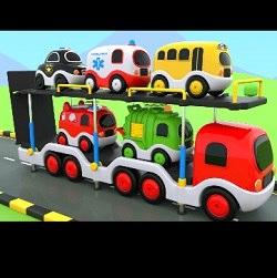 Photo of فیلم آموزش رنگ ها به انگلیسی با استفاده از ماشین ها