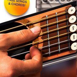 Real Guitar Free - Chords, Tabs & Simulator Games - نرم افزار گیتار پیشرفته اندروید