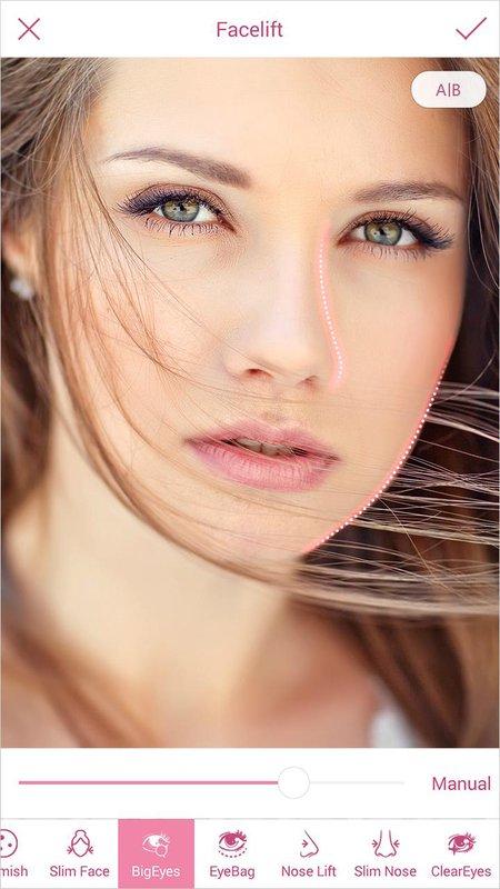 InstaBeauty -Makeup Selfie Cam  - نرم افزار ساخت عکس سلفی حرفه ای برای اینستاگرام