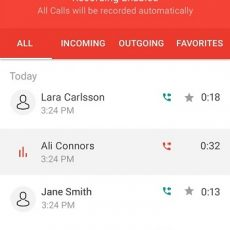6 Automatic Call Recorder for Me