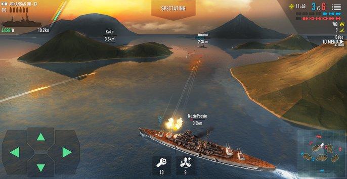 Battle of Warships  - دانلود بازی جنگی نبرد کشتی ها اندروید