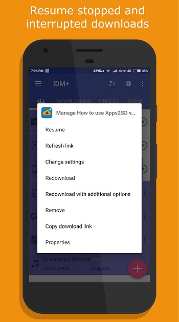 IDM+: Fastest Download Manager - دانلود منیجر اندرویدIDM+: Fastest Download Manager - دانلود منیجر اندروید