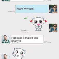 Dating App & Chat : W-Match - نرم افزار چت بر اساس موقعیت جغرافیایی