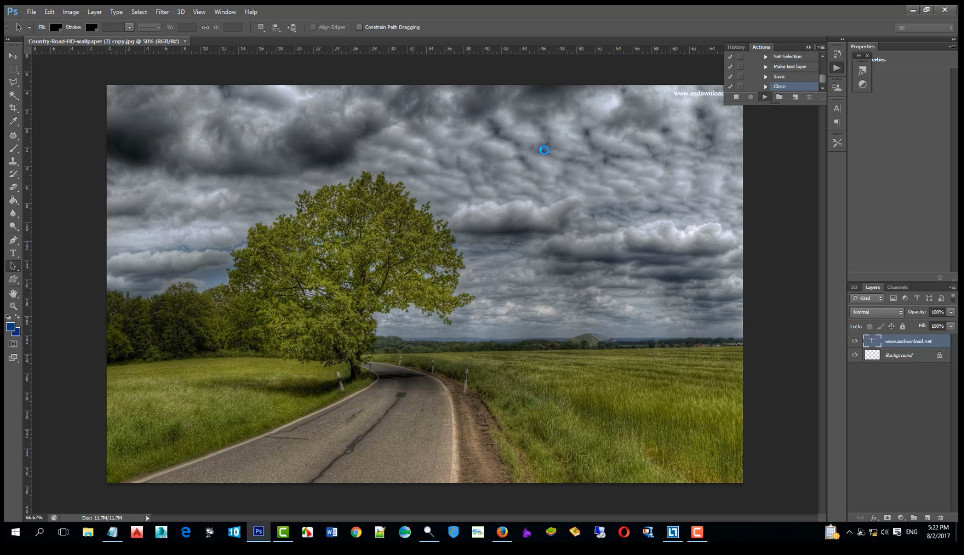 How to edit multiple photos in Photoshop