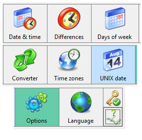 دانلود Advanced Date Time Calculator 8.0 Build 071 - نرم افزار ماشین پیشرفته زمان و تبدیل تاریخ