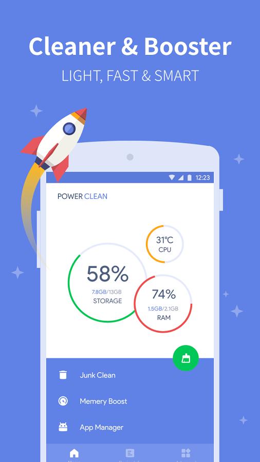 دانلود Power Clean – Optimize Cleaner - نرم افزار بهینه سازی و امنیت اندروید