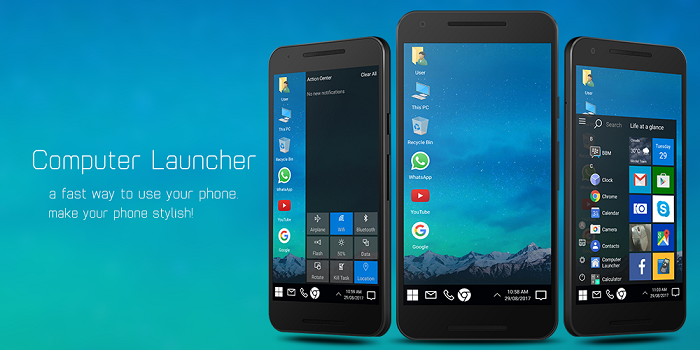 android Computer Launcher