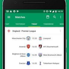 دانلود Soccer Scores Pro– FotMob Unlocked – اپلیکیشن نمایش زنده نتایج فوتبال در جهان+ لیگ ایران