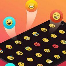 دانلود TouchPal Emoji Keyboard - کیبورد تاچ پل برای اندروید