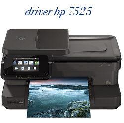 HP 7525 Printer Driver - دانلود درایور پرینتر اچ پی 7525