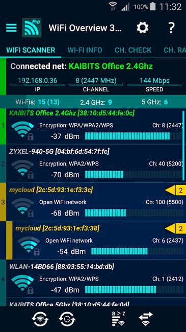 دانلود WiFi Overview 360 Pro - نرم افزار بهینه سازی وای فای