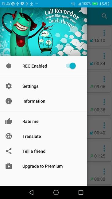 1 C Mobile Call Recorder Premium
