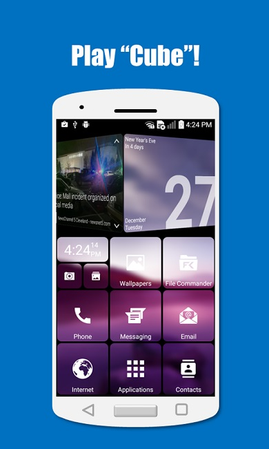 1 SquareHome 2 Launcher Windows style
