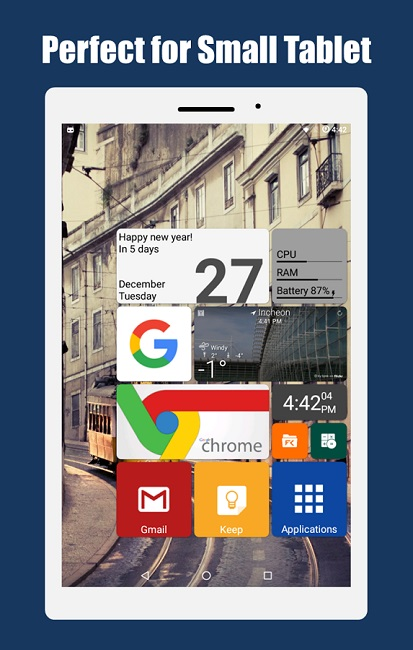 7 SquareHome 2 Launcher Windows style