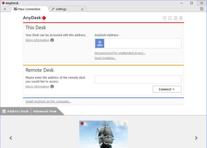 دانلود نرم افزار anydesk 5 2 2 - نرم افزار انی دسک برای ویندوز و
