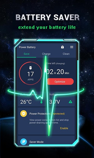 1 Power Battery Battery Life Saver Health Test