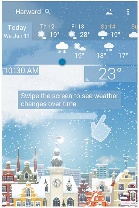 دانلود YoWindow Weather – برنامه هواشناسی اندروید