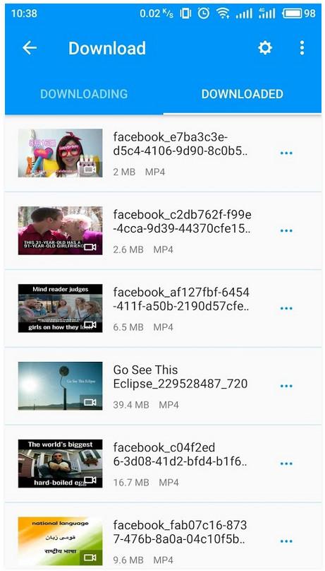 4 KeepVid Lite download facebook Instagram video