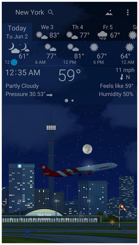 5 YoWindow Weather