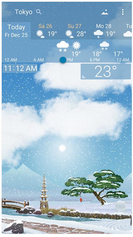 دانلود YoWindow Weather 2.4.24 – برنامه هواشناسی اندروید