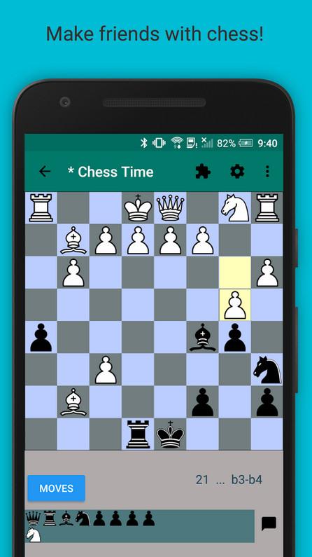 دانلود Chess Time Pro – Multiplayer - بازی شطرنج آنلاین برای اندروید