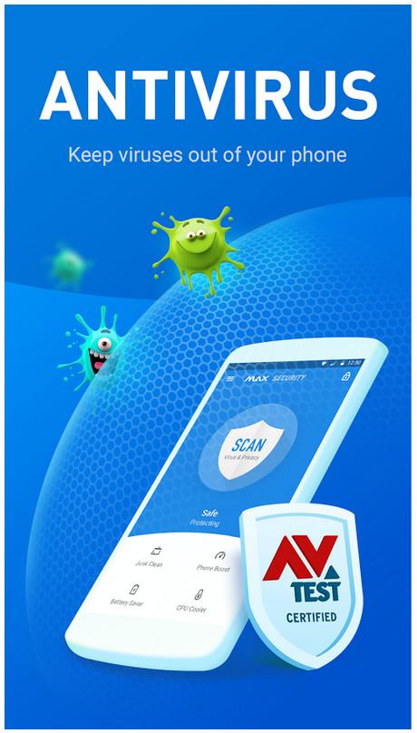 1 Virus Cleaner Antivirus Booster MAX Security