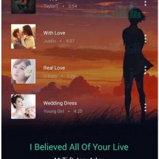 دانلود Allmusic Music Player Pro – موزیک پلیر گرافیکی اندروید