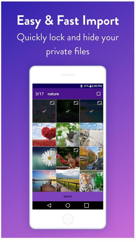 دانلود Vault : Hide Pictures, Videos, Gallery & Files Pro – اپلیکیشن مخفی کردن فایل ها اندروید