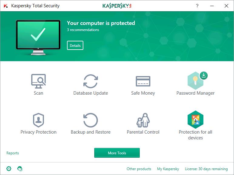 KasperskyTotal Security