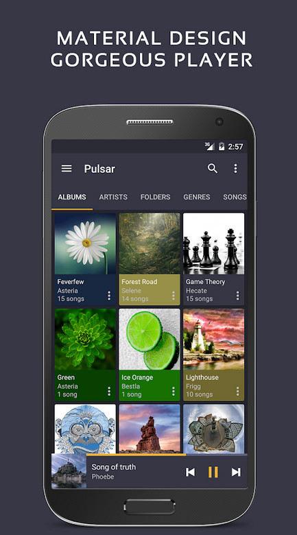 دانلود Pulsar Music Player Pro - موزیک پلیر پالسار