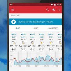 دانلود Weather Underground: Forecasts Premium دقیق ترین و بهترین برنامه هواشناسی اندروید