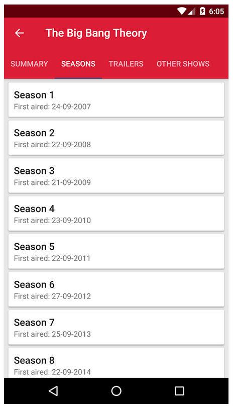 دانلود Appflix Premium - برنامه ی نمایش اطلاعات فیلم ها و سریال ها