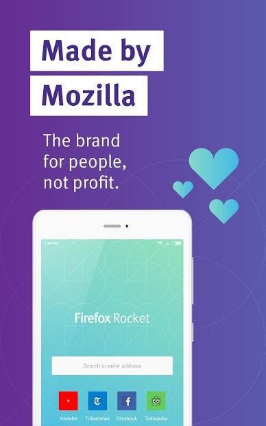 دانلود Firefox Rocket Browser – مرورگر پر سرعت فایرفاکس راکت اندروید