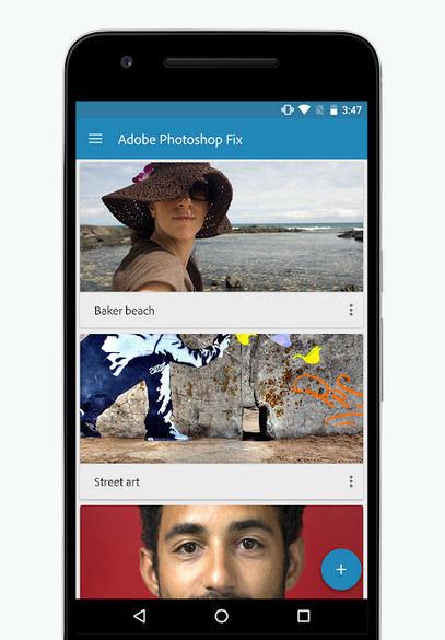 دانلود Adobe Photoshop Fix – برنامه ادوب فتوشاپ فیکس اندروید