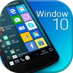 دانلود Computer Launcher Lite - Win 10 Style Full - تم لانچر شبیه ساز محیط ویندوز 10 روی اندروید