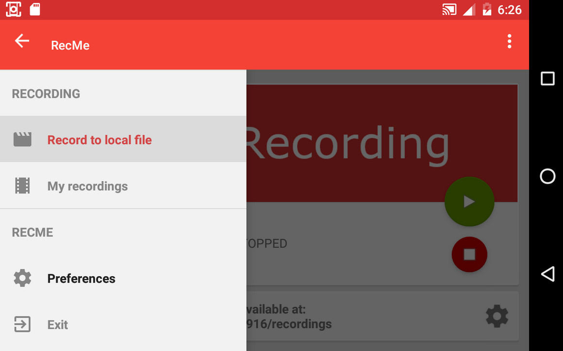 RecMe Pro Screen Recorder android