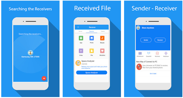 Share File Transfer Connect